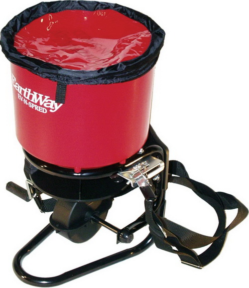 Earthway commercial crank spreader red / 40 pound hopper - 3100 at Sears.com