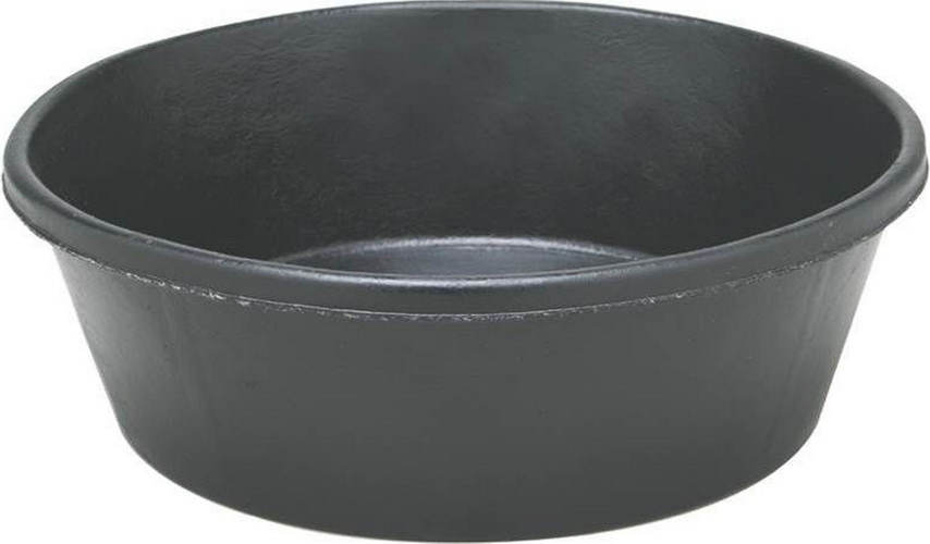 Fortex industries cr20 feeder pan black / 2 quart - cr20 black