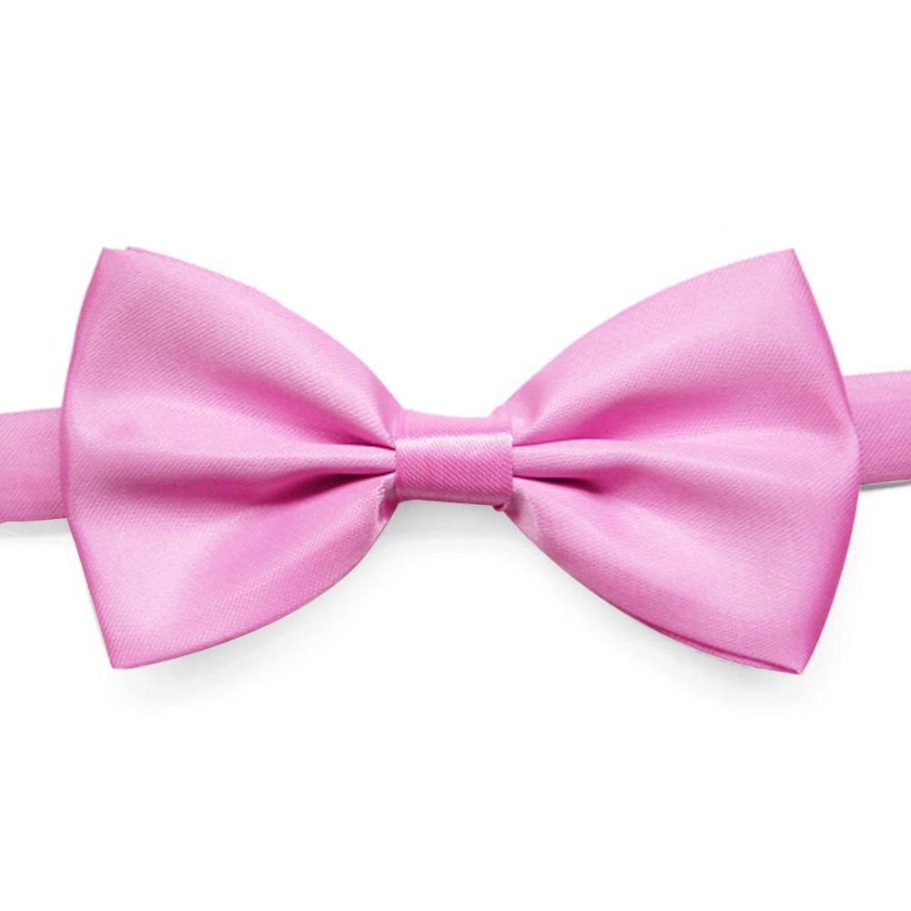 TOPTIE Men's Solid Color Satin Tuxedo Bow Tie, Wholesale 10 Pcs