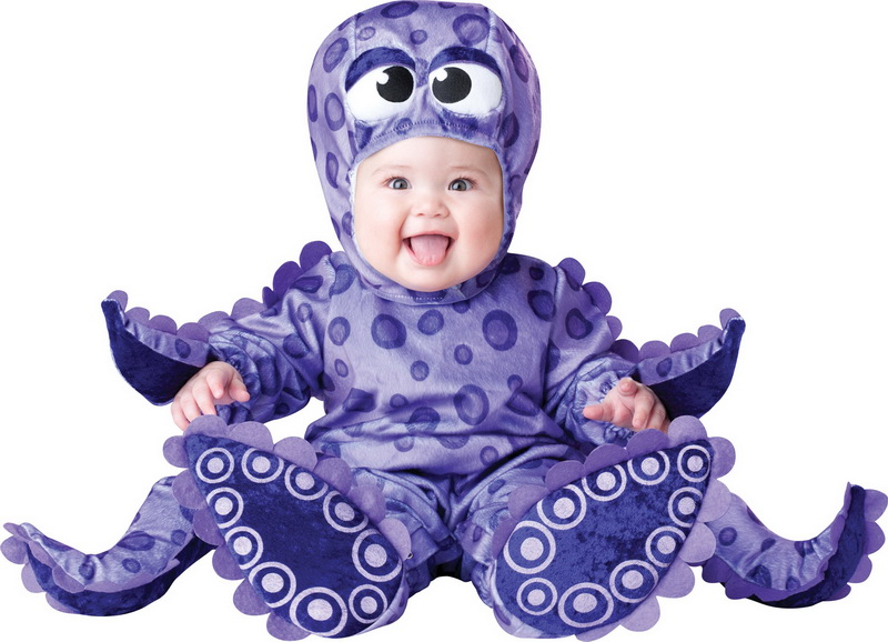 In Character Costumes In Character Costumes 212974 Tiny Tentacles Octopus Infant / Toddler Costume - Size: 12-18 Months - Color: ...