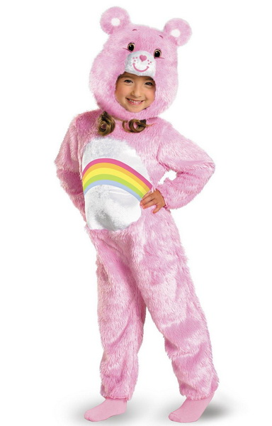 Disguise Disguise 214006 Care Bears Cheer Bear Deluxe Plush Infant / Toddler Costume - Size: 12/18 Months - Color: Pink ...