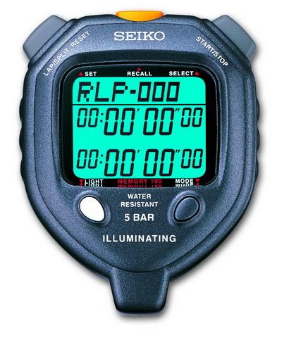 Seiko S058 - LED Light 100 Memory Stopwatch at Sears.com