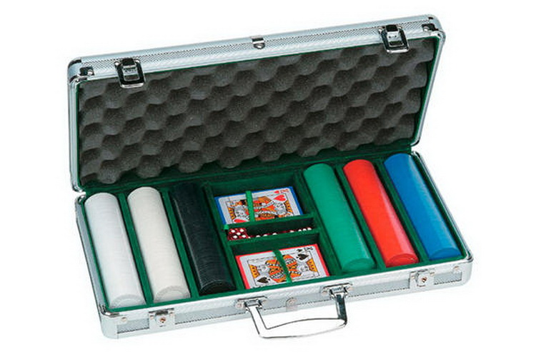 CHH 2783 300 PC Diamond Chip Poker Set