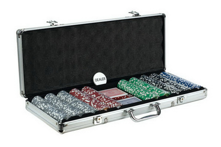 CHH 2785B 500 PC Big Number Poker Set