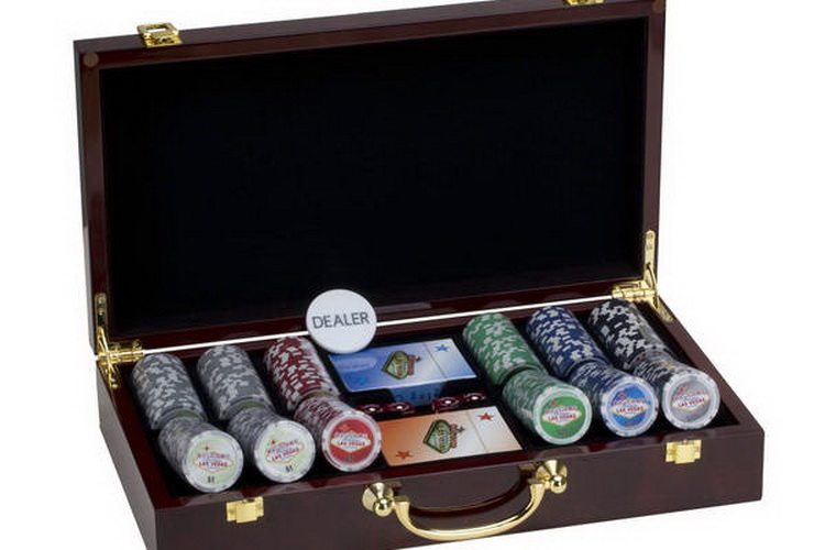 CHH 7033AS Las Vegas 300 Chips Poker Set