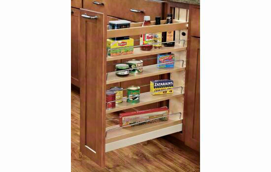 Rev-A-Shelf 448-BCBBSC-8C Base Cabinet Pullout Organizer with Ball-Bearing Soft-Close Sink & Base Accessories at Sears.com