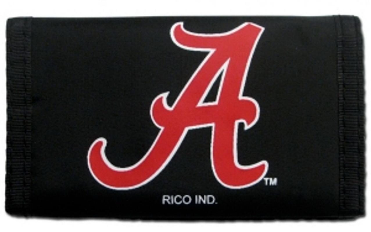 Casey Alabama crimson tide nylon trifold wallet