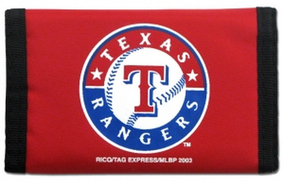 Casey Texas rangers nylon trifold wallet - Red