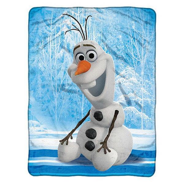 Casey's Distributing Frozen 46x60 Micro Fleece Blanket - Chills & Thrills