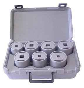 Lg Kastar Lg Kastar 41670 7 Piece Axle Nut Socket Set