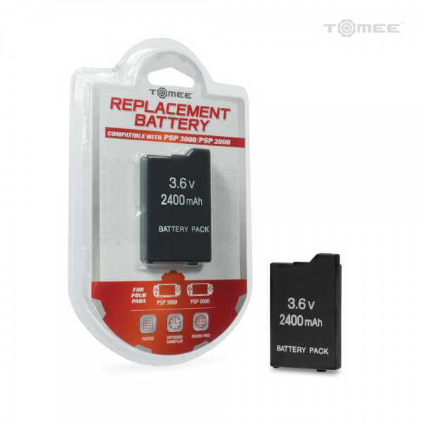 Hyperkin M05938 PSP 3000/ 2000 Slim Tomee Replacement Battery