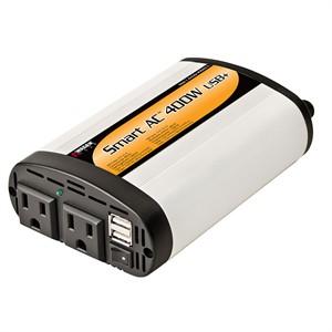 Wagan Wagan 400 watt dc to ac power inverter, 2.1a usb port, 2 ac outlets