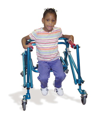 FABRICATION ENTERPRISES (Price/Each)31-3652 Nimbo Posterior Walker, Youth, Blue