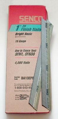 Senco 15 ga brad nail 2in 4m/box, Price/BOX