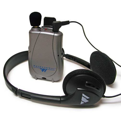 WILLIAMS SOUND Williams Sound Pocketalker Ultra Personal Sound Amplifier with Deluxe Folding Headphone H21