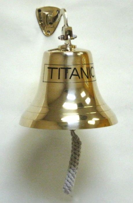 India overseas trading br1845t solid brass engraved bracket bell