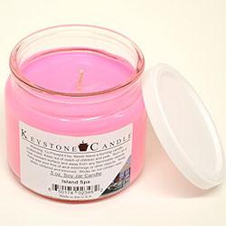 Keystone Candle 5ozSR-IsSpa Island Spa Soy Jar Candles 5 oz