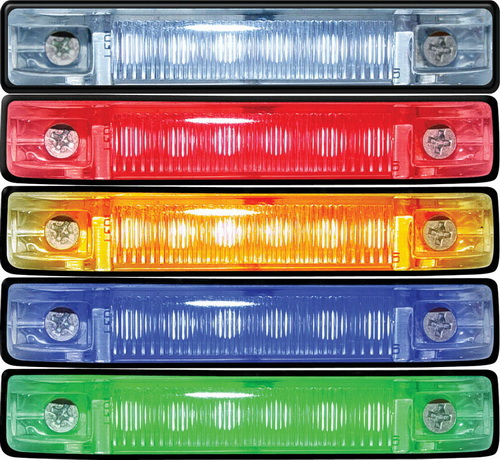 """SeaSense """"(Price/Each) LED UTILITY RED LIGHT 6"""""""" CH 50023615 (Image for Reference)"""""""
