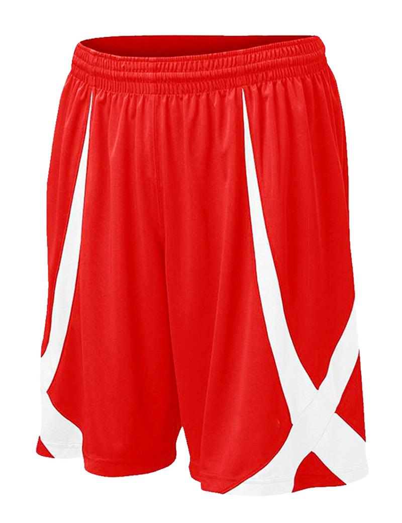 Toptie TOPTIE Men Basketball Shorts, Viscose Knit, Adult Size