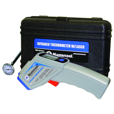 Mastercool infared laser thermometer, Price/EA