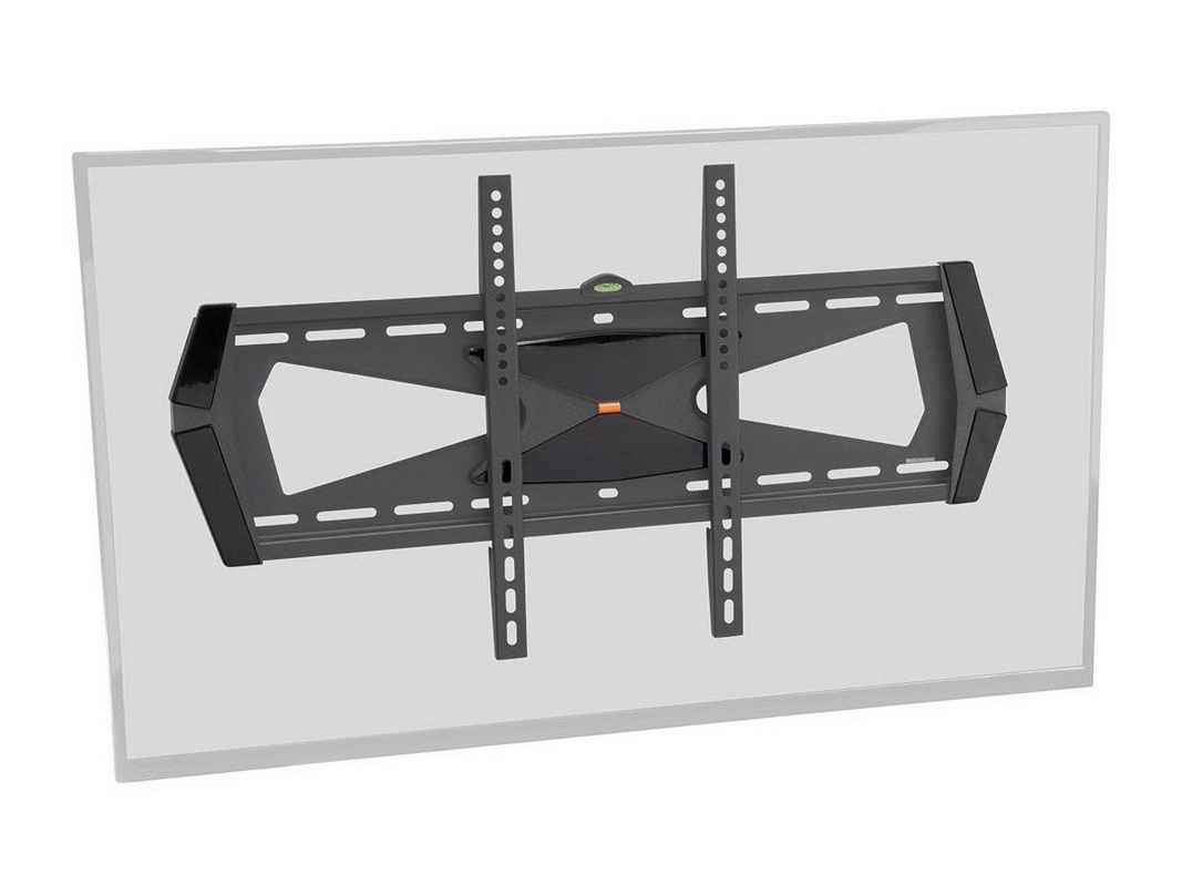 Monoprice 12988 Fixed TV Wall Mount Bracket with Anti-Theft Feature, UL Certified (Max 88 lbs
