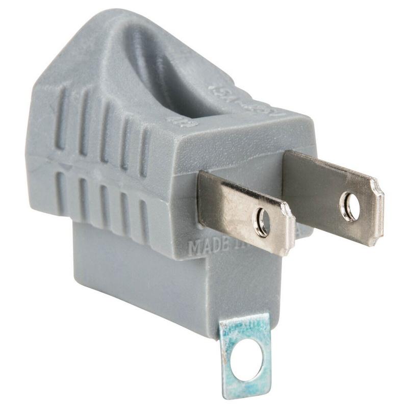 Parts Express AC 3-Prong Grounding Plug Adapter