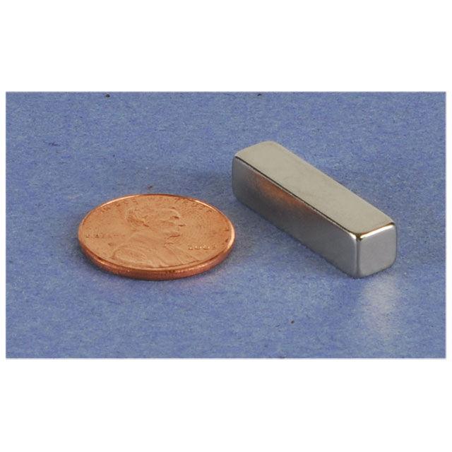 "Parts Express Neodymium Bar Magnet 1"" x 1/4"" x 1/4"""