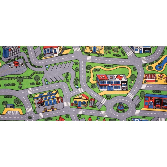 Learning Carpets EC4786 City Life Play Carpet