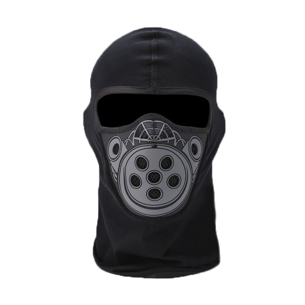 TopTie Cotton / Silicon Wind Proof Balaclava Outdoor Face Mask With Mesh