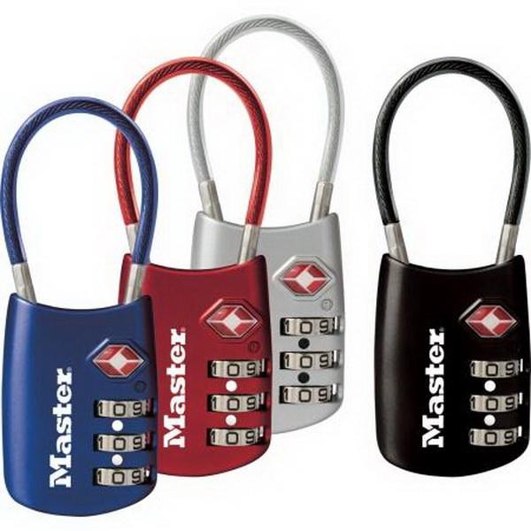 Master Lock (Price/Each)Master Lock - TSA Luggage Lock - Multiple Colors