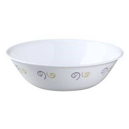 Corelle 1096805 Impressions Violet Dance 1-qt Serving Bowl