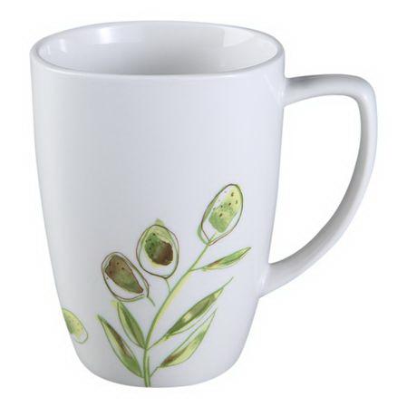 Corelle 1106631 Square Italian Garden 12-oz Porcelain Mug