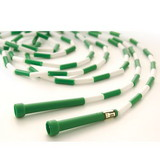 US Games 16' Segmented Skip Rope Green/White, Price/EA
