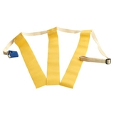 Triple Threat Flag Football Belts Yellow, Price/EA
