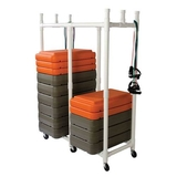 SSG / BSN Fitness Step Cart, Price/EA
