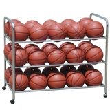 SSG / BSN Double-Wide Steel Ball Cart, Price/EA