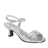 Touch Ups by Benjamin Walk children's Talia Shoes Synthetic Silver