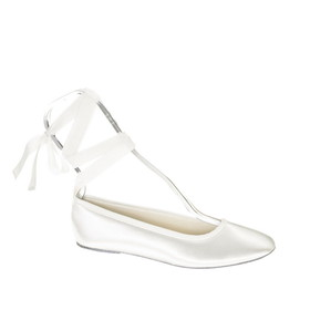 Touch Ups by Benjamin Walk Women's  Beth Shoes Satin White
