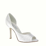 Touch Ups by Benjamin Walk Women's  Flash Shoes Satin White