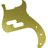 Pickguard - Original Fender, '57 P-Bass, Gold-Anodized