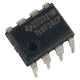 Integrated Circuit - TL072, Dual Op-Amp