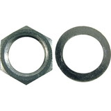 "Panel Nut & Washer, for 3/8"" Potentiometers"
