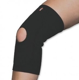 Core Products 6402 Neoprene Knee Sleeve, Black
