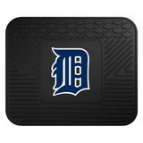 Detroit Tigers Heavy Duty Vinyl Rear Seat Car Utility Mat
