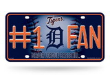 Detroit Tigers License Plate - #1 Fan