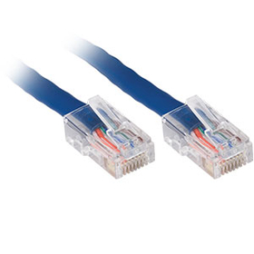 Generic CAT5e Patch Cable, 1ft, Blue