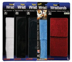 Unique WB-X Superthick Wristbands(2X)