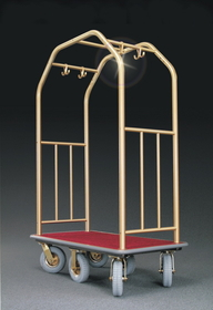 Glaro Premium 6 Wheel Bellman Cart, 6600