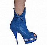 "Karo's Shoes 3173-6"" la, approximately 6"" Heel, Ankle Boot Collection"