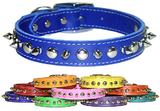 Signature Leather Collars(1/2&quot; RG Spike & Stud Lthr Collar)